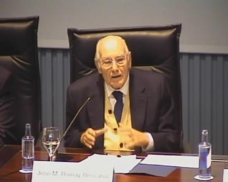 José M. Romay Beccaría, letrado do Consello de Estado.